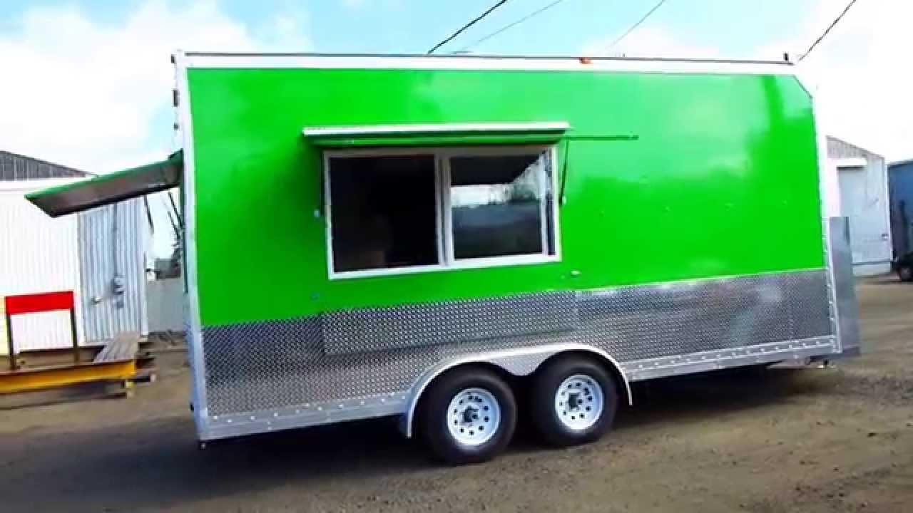 Custom Food Trucks Built Oregon