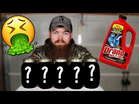I Left 5 Things In Drano For 30 Days...