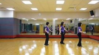Painted Windows - Line Dance