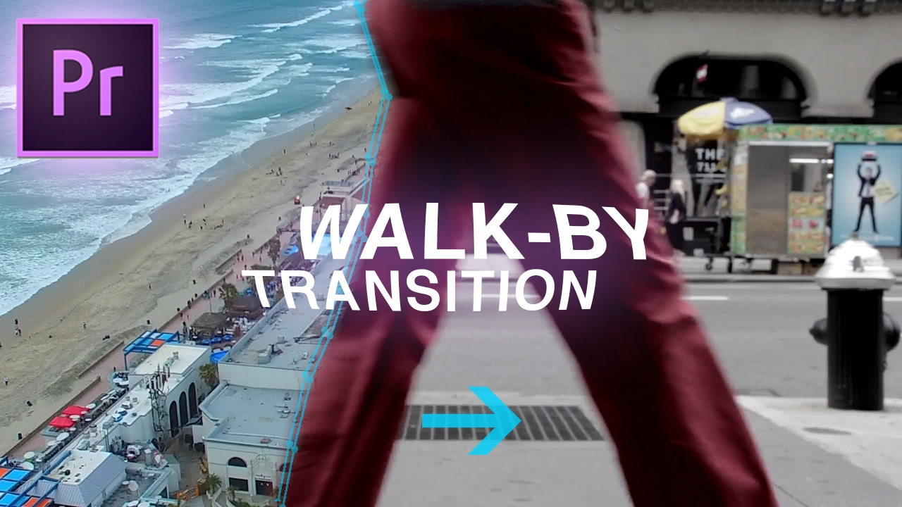 Slick Walk By Transition Effect Adobe Premiere Pro Cc Tutorial