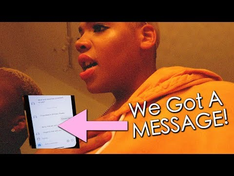 Someone Is After Me & Zach!!! (we got a message)