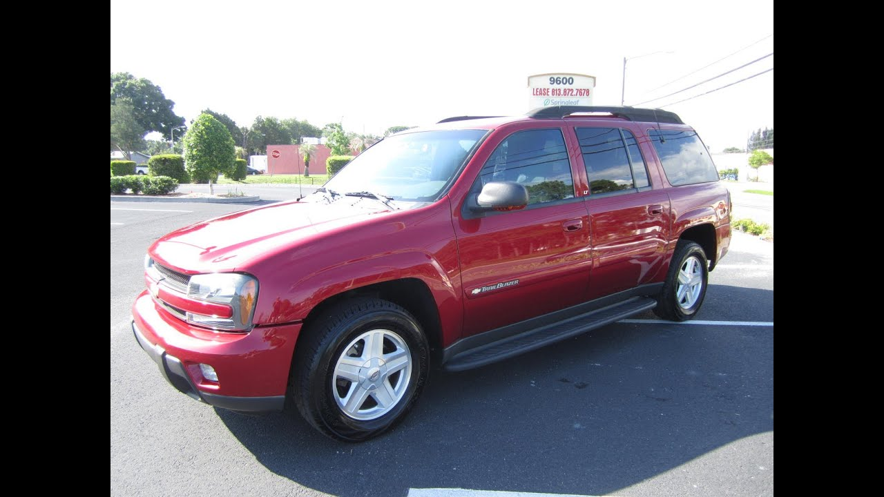 Sold 2003 chevrolet trailblazer extended lt 2wd meticulous motors inc florida for sale youtube