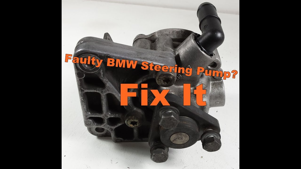 Bmw E46 330 E39 530 Power Steering Pump Removal Youtube