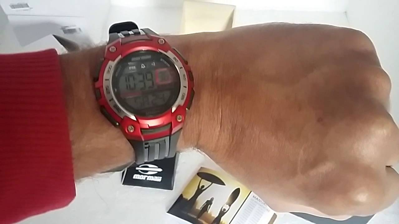 85ccd269851f8 Relógio Mormaii YP9455 8R Digital - YouTube