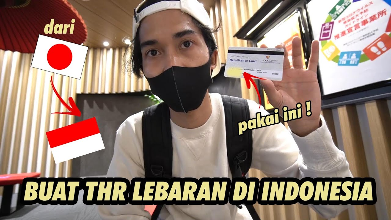KIRIMIN KELUARGA DI INDONESIA DUIT BUAT LEBARANAN !