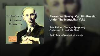 Alexander Nevsky: Op. 78 - Russia Under The Mongolian Yoke