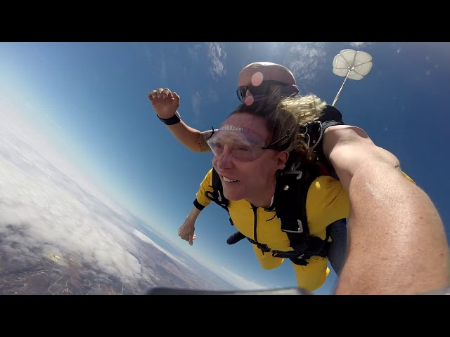 Margie's Skydive Birthday 2019 !!!