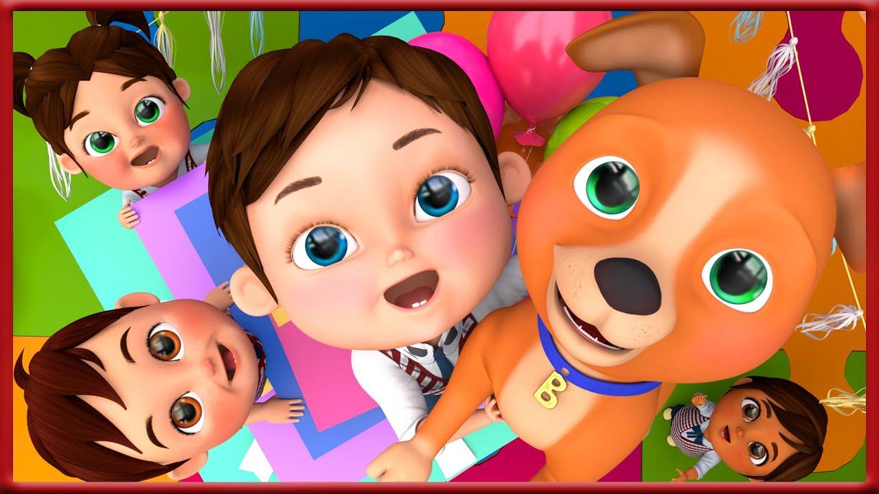 Bingo School Dog Song , Baby Shark ,This Little Puppy ,  Wheels on the Bus ,  Banana Cartoon [HD]