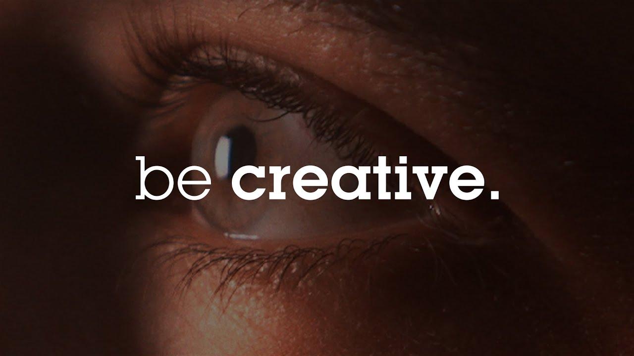 Resultado de imagen de be creative