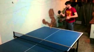 Table Tennis Forehand (chinese rubber)
