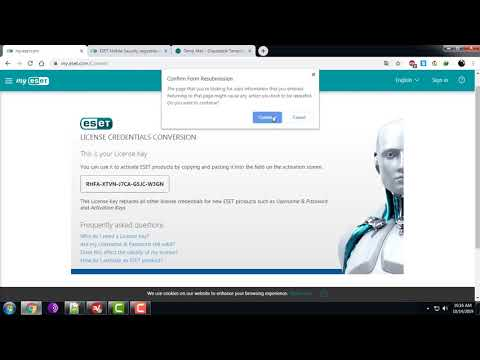 How To Get Free Key ESET Mobile Security For Android