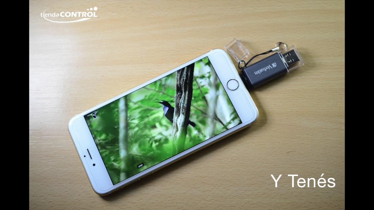 ca9d588621f iStore n Go USB Drive para iPhone - Verbatim - www.TiendaControl.com ...