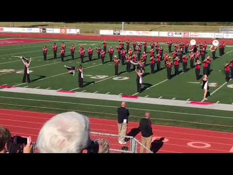 Video: Russellville Junior High School Band performs at Region IX Marching Assessment
