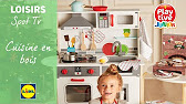 Cuisine En Bois Playtive Lidl France Youtube