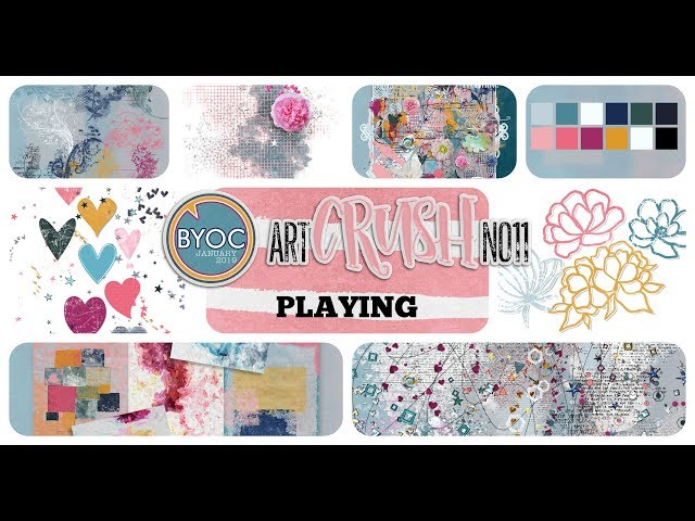 artCrush No11 Collection - PLAYING - by NBK-Design