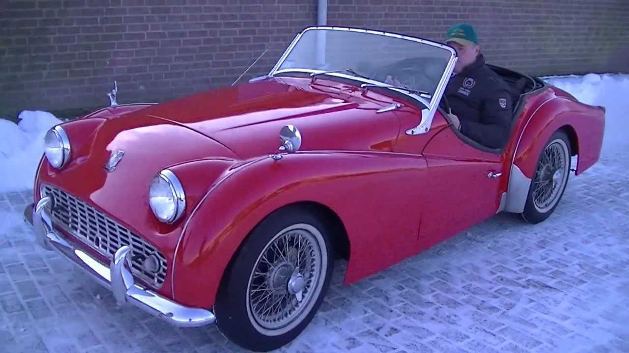 Rare Triumph Tr3b 1962 Matching Video Wwwerclassicscom Youtube