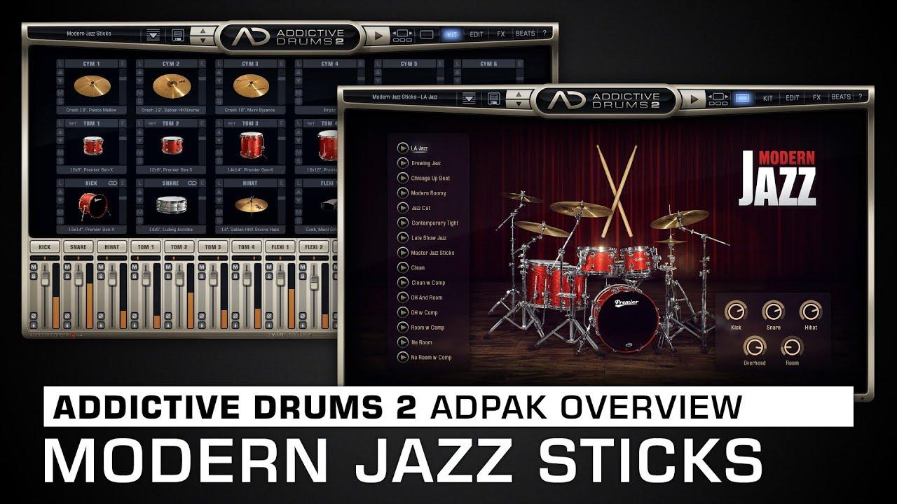 ADpak Modern Jazz Sticks