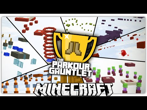 The Parkour Gauntlet | 8 Minecraft Parkours to Test Your Abilities!