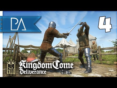 TRAINING TO BE A KNIGHT! - Kingdom Come: Deliverance Gameplay #4