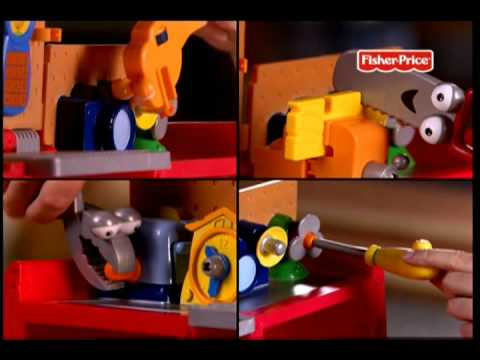 Manny's Pickup/working Table - Fisher Price - Bimbomarket