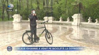 Stirile Kanal D (23.04.2021) - Klaus Iohannis a venit pe bicicleta la Cotroceni! | Editie de pranz