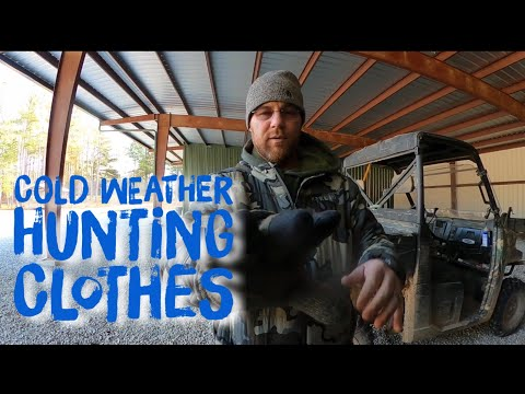 MY COLD WEATHER WHITETAIL HUNTING CLOTHES 🤔🤔🤔