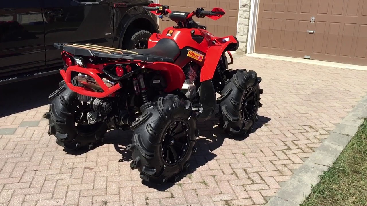 2016 Can Am Renegade 850 Built 30 Quot Tires Elka Stage 3