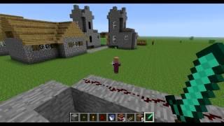 Крутые механизмы в Minecraft часть 1
