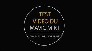 Test video du Mavic Mini