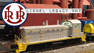 Lionel Legacy Union Railroad URR NW2 switcher 6-83392