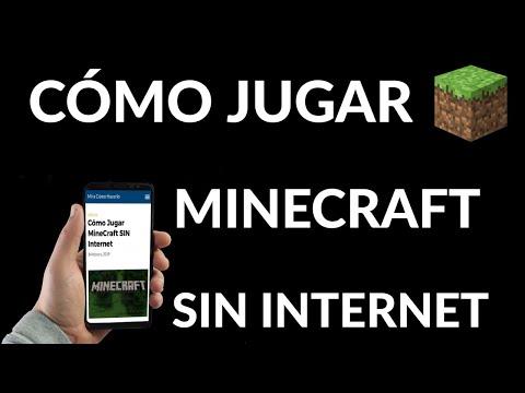 Cómo Jugar MineCraft SIN Internet