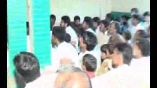 Majlis e Aza Zakir malik sajid Hussain rukan oct 2013 at chak 230 jhang