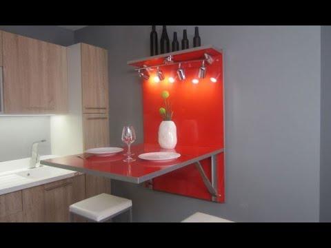 Mesa abatible de cocina - Bricomanía