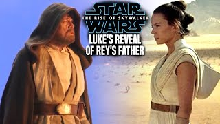 Luke's Reveal Of Rey's Father Leaked! The Rise Of Skywalker (Star Wars Episode 9)