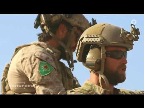 ARD Panorama: Krieg gegen IS - Pakt der USA mit kurdischen PKK - Marxisten