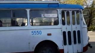 Троллейбус Skoda. Ялта. Апрель 2017