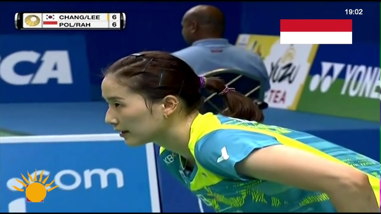 Indonesia Open 2017 Chang Ye Na & Lee So Hee vs Greysia Polii