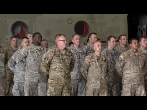 Upstate Army National Guard unit prepares for deployment