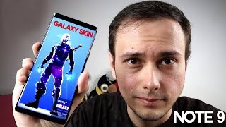 NEW NOTES 9 + Galaxy Skin FORTNITE!