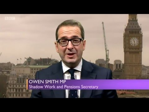 Owen Smith, Shadow Welfare & Pensions on BBC SP - Full 'tough' Interview 06/12/2015