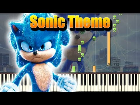 🎵 Green Hill Zone - Sonic The Hedgehog [Piano Tutorial]