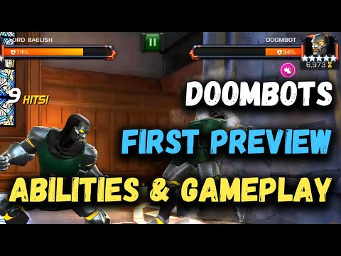 Doombots First Preview & Gameplay - Marvel Contest Of Champions