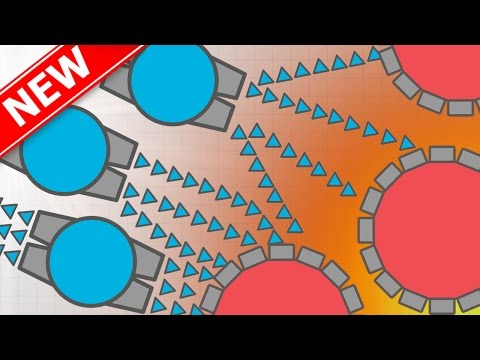 DIEP.IO NEW BATTLE SHIP CLASS VS MOTHERSHIP!! - BRAND NEW UPDATE FOR DIEP.IO -DESTROYING MOTHERSHIPS