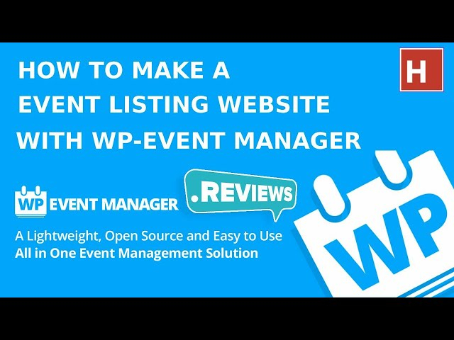 how to make an event listing website with wp event manager plugin ||  wp-event manager plugin review