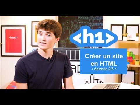 Créer Un Site En HTML (2/5) -