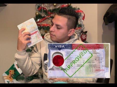 Visa AMERICANA Mi experiencia Para solicitar visa En Tegucigalpa me dieron la visa por 10 años 2019