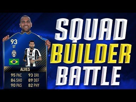 FIFA 17: OMG TOTY STÜRMER DANI ALVES SQUAD BUILDER BATTLE !⚽⛔ ULTIMATE TEAM DEUTSCH