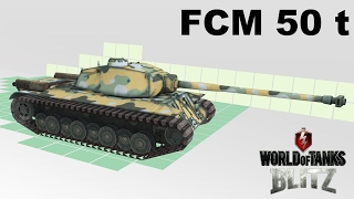 World of Tanks Blitz - FCM 50 t : gameplay