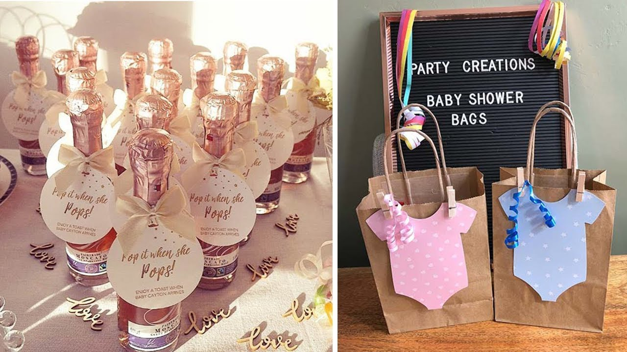 10 BABY SHOWER FAVORS IDEAS