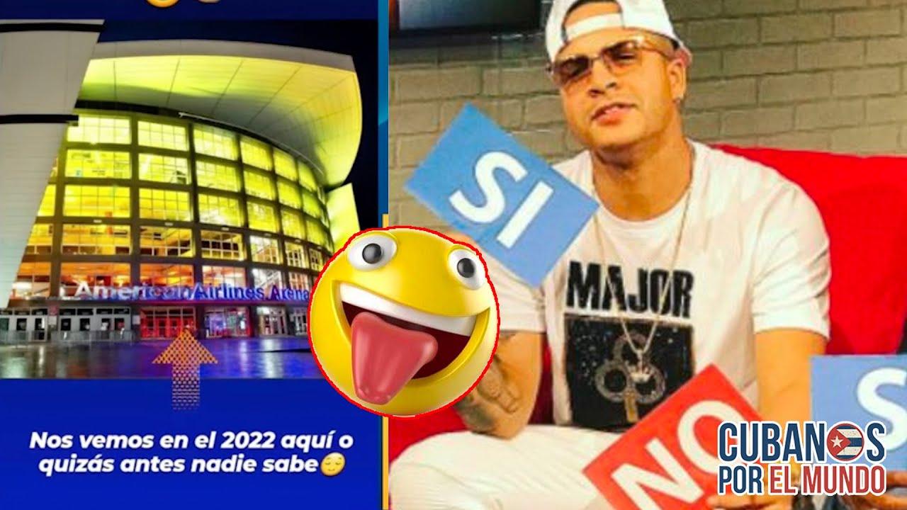 Yomil asegura que para el 2022 va a dar un concierto en el American Airlines Arena de Miami